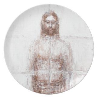 New Turin Shroud (Contemporary Realism Jesus) Plates