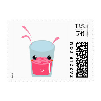 New! U.S. cute postcard with Manga Cocktail Postage