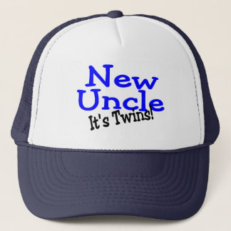 New Uncle Its Twins Trucker Hat