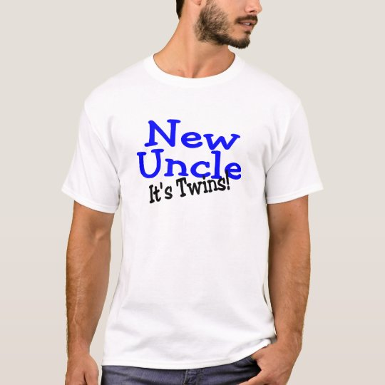 New Uncle Of Twins T-Shirt