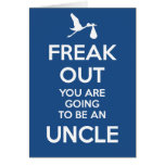 New Uncle Pregnancy Announcement  Card