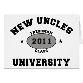 New Uncles 2011 Card