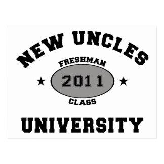New Uncles 2011 Postcard