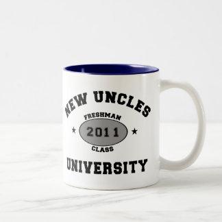 New Uncles 2011 Two-Tone Coffee Mug