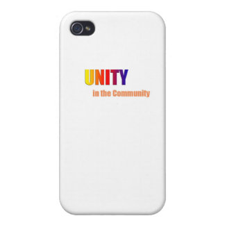 New Unity In the Community products iPhone 4 Case