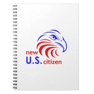 NEW US CITIZEN NOTEBOOKS