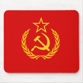 New Ussr, Democratic Republic of the Congo flag Mouse Pad