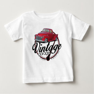 old red chevy t shirts shirt designs zazzle Rev Up Motors Macomb new vintage garage truck baby t shirt