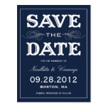 NEW VINTAGE | SAVE THE DATE ANNOUNCEMENT POSTCARD