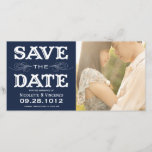 """NEW VINTAGE   SAVE THE DATE PHOTO CARD<br><div class=""""desc"""">OTHER COLORS</div>"""
