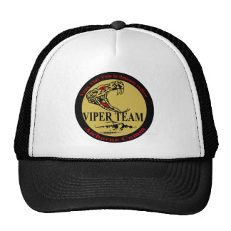 New Viper Team Patch Trucker Hat