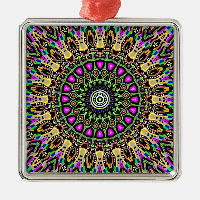 New Vision No 5 Kaleidoscope Metal Ornament