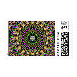 New Vision No. 5 Kaleidoscope Postage Stamps