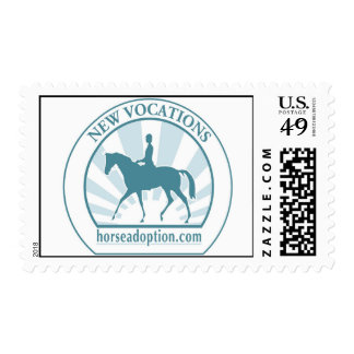 New Vocations Racehorse Adoption Program Stamps