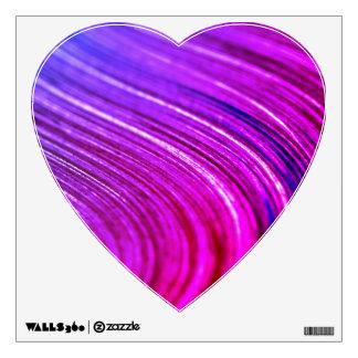 New wall decal in shop : heart Shape purple