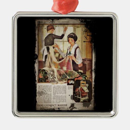 New Washing Maching 1920 Christmas Ornaments