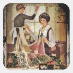 New Washing Maching 1920 Square Sticker