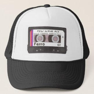 New Wave Cassette Tape Trucker Hat