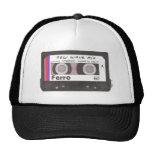 New Wave Cassette Tape Trucker Hats