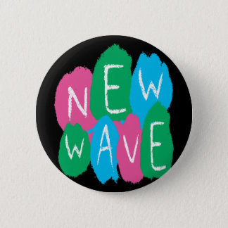 New Wave Graffiti Pinback Button