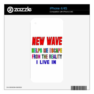 New Wave Helps Me Skin For iPhone 4