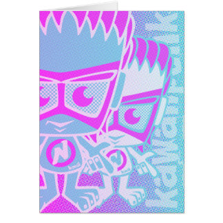 New Wave Mascot Card