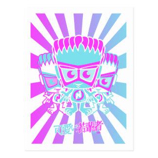 New Wave Mascot Post Card
