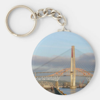 New Westminster Quay Boardwalk and Harbour Keychain