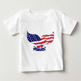 New-Whale-Tail-[Converted] Baby T-Shirt