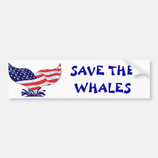 New-Whale-Tail-[Converted] Car Bumper Sticker