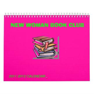 NEW WOMAN BOOK CLUB CALENDAR