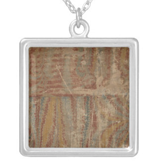 New World Atlas 2 Silver Plated Necklace