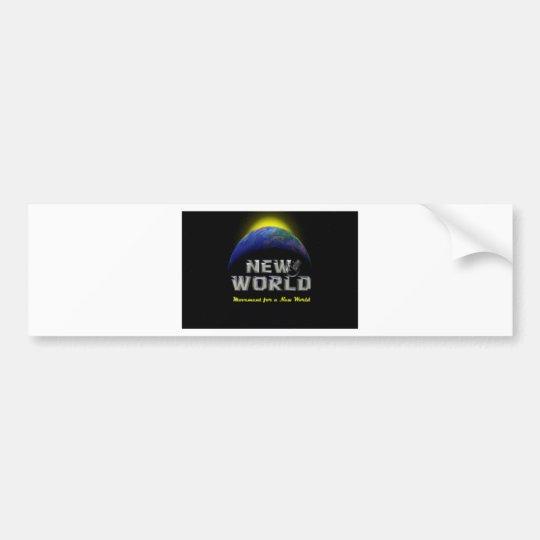 New World Bumper Sticker