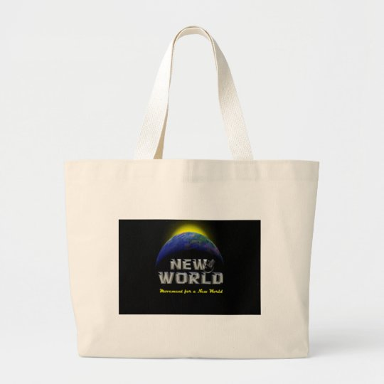 New World Large Tote Bag