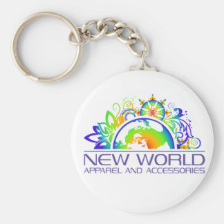New World Logo Keychain