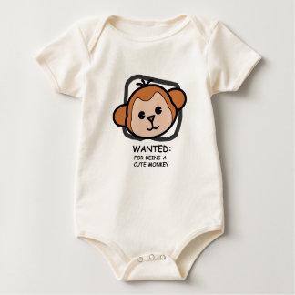 New World Monkey baby Baby Bodysuit