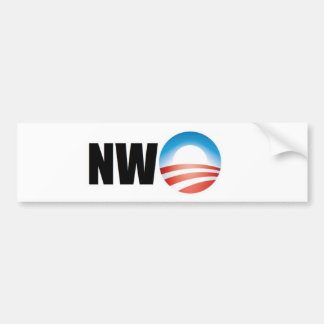 New World Order Bumper Sticker