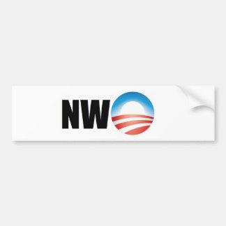 New World Order Car Bumper Sticker