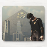New World Order Cityscape Mousepad