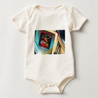 New World Order Graffiti Baby Bodysuit