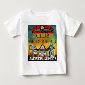 NEW WORLD ORDER ILLUMINATI BILDERGERG BABY T-Shirt