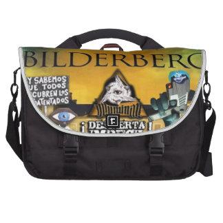 NEW WORLD ORDER ILLUMINATI BILDERGERG LAPTOP BAGS