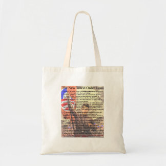 New World Order Laws Tote Bags