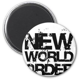 New World Order Fridge Magnets