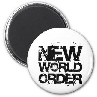 New World Order Refrigerator Magnet