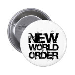 New World Order Pinback Buttons