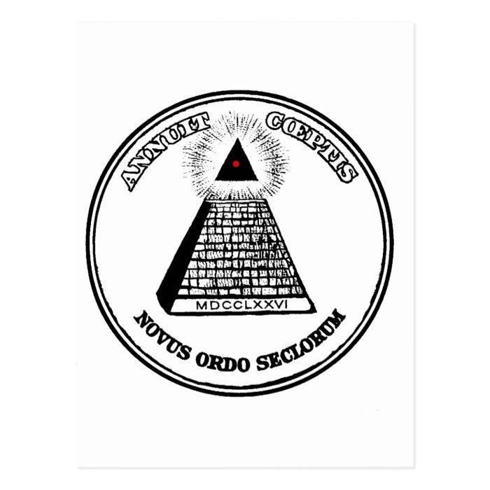 New World Order Postcard