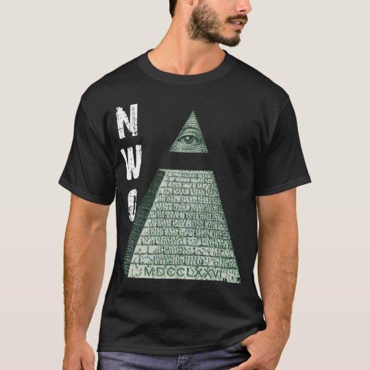 New World Order Pyramid T-Shirt