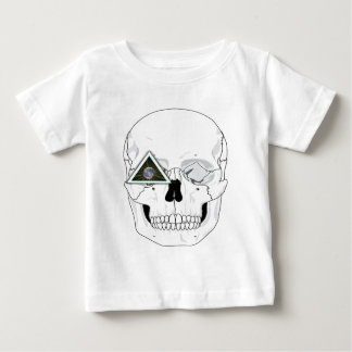 New World Order Skull Design Baby T-Shirt