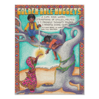New World Recipes - Golden Rule Nuggets Poster